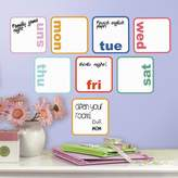 RoomMates Days Of The Week Dry Erase Peel and Stick Wall Decals