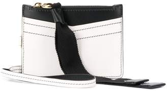 Givenchy two tone cardholder