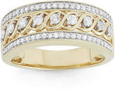 JCPenney MODERN BRIDE 1/2 CT. T.W. Diamond 10K Yellow Gold Anniversary Band