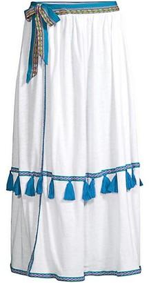 Pitusa Swing Ruffle Cover-Up Skirt
