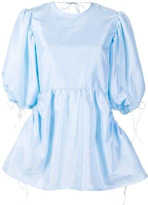 Cecilie Bahnsen Lulu peplum tunic top