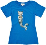 Wildfox Couture Youth Girl's Mer Kitten Tourist Crew