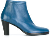 A.F.Vandevorst side zip boots - women - Leather/Sheep Skin/Shearling/rubber - 37