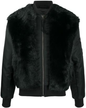 Mr & Mrs Italy Fur Bomber Jacket