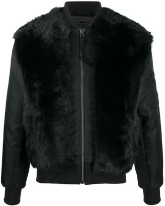 Mr & Mrs Italy x Nick Wooster fur bomber jacket
