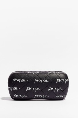 Nasty Gal Womens Nothing But a Sunglasses Case - Black
