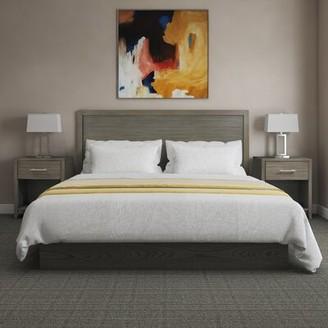 Samuel Lawrence Hospitality Berjen Wood Panel Headboard Size: Queen, Color: Gray