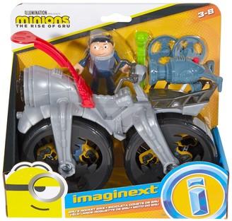 Fisher-Price Imaginext(TM) Minions Gru's Rocket Bike