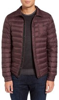 Slate & Stone Men's Packable Quilted Goose Down Jacket