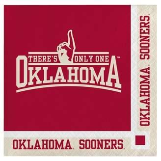 NCAA 20ct University Of Oklahoma Sooners Cocktail Beverage Napkins
