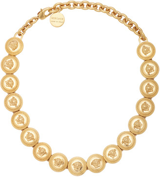 Versace Gold-Tone Choker