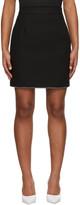 MSGM Black Crystal Detailing Skirt