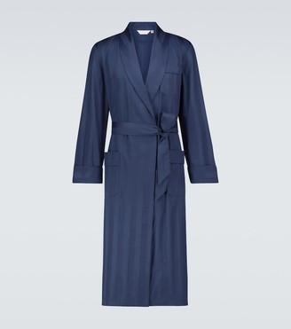 Derek Rose Lingfield cotton robe