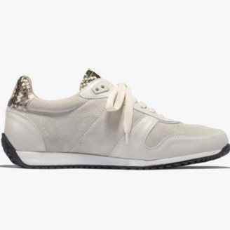 Zespà Sand Suede Viper Style ZSP6 Sneakers - 36 | leather | sand - Sand