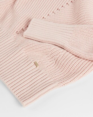 Ted Baker Structured Sleeve Detailed Sweater
