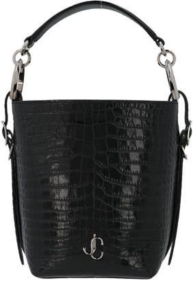 Jimmy Choo Varenne Embossed Bucket Bag