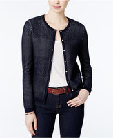 Tommy Hilfiger Amanda Lace Cardigan, Only at Macy's