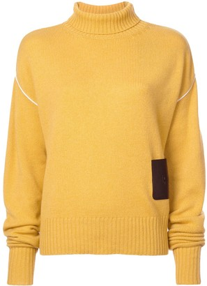 Rochas Oversized Turtleneck Jumper