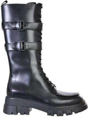 Ash Loft Combat Boots