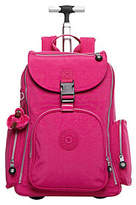 Kipling Nylon Large Wheeled Backpack - Alcatraz