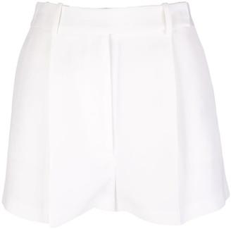 Ermanno Scervino Viscose And Linen Shorts