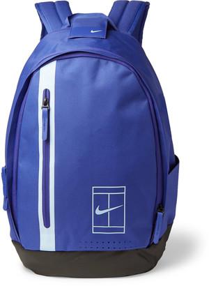 Nike Tennis Nikecourt Advantage Logo-Print Shell-Trimmed Canvas Backpack