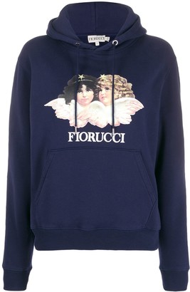 Fiorucci Vintage Angels relaxed-fit hoodie