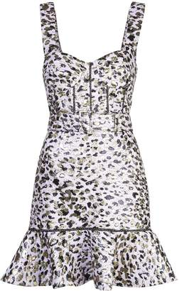Jonathan Simkhai leopard print dress