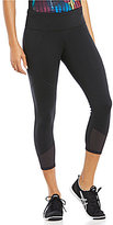 Lucy To The Barre Textured Capri Legging