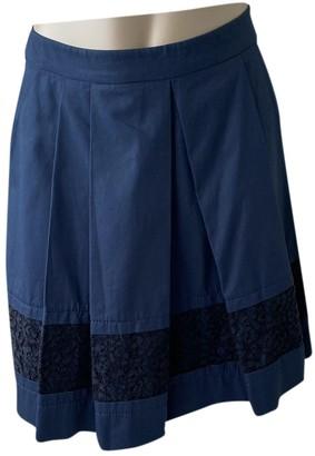 Philosophy di Alberta Ferretti Blue Cotton Skirt for Women