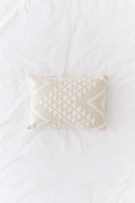 Urban Outfitters Elyse Embroidered Lumbar Pillow