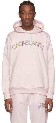 Casablanca Pink Casa Arch Hoodie