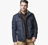 Johnston & Murphy Waxed-Cotton Four-Pocket Jacket