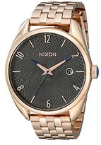 Nixon Women's A4182046 Bullet Analog Display Analog Quartz Rose Gold Watch
