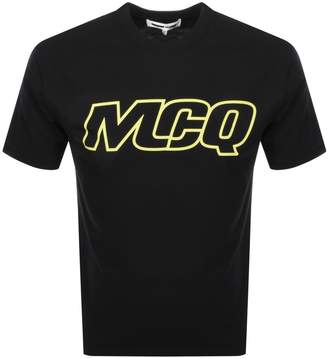 McQ Logo T Shirt Black