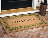 Williams-Sonoma Williams Sonoma Personalized Bay Leaf Coir Doormat