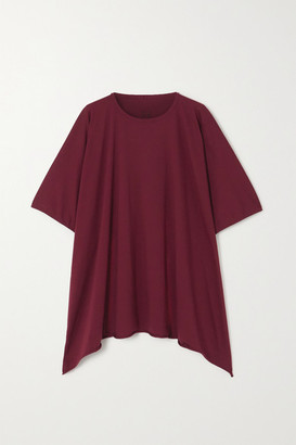 Rick Owens Minerva Cotton-jersey T-shirt - Red