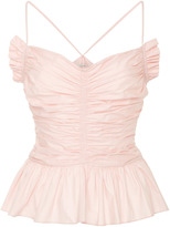Jill Stuart Catalina Gathered Camisole