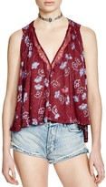 Free People Love Potion Printed Top