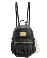 Juicy Couture Solstice Fringe Leather Mini Backpack