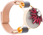 Marni floral cuff bracelet