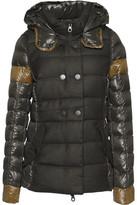 Duvetica Calinitide Paneled Shell Hooded Coat