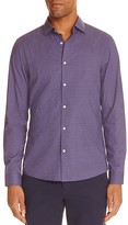 Michael Kors Multi Dot Slim Fit Button-Down Shirt