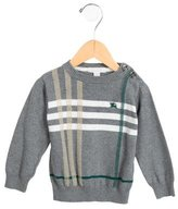 Burberry Boys' Nova Check Knit Sweater