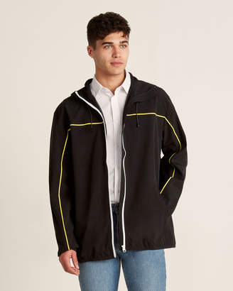 Brandblack Full-Zip Hooded Windbreaker Jacket