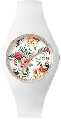 Ice Watch Ice-Watch - ICE flower Legend - Women's wristwatch with silicon strap - 001295 (Medium)