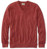 L.L. Bean Men's Cotton/Cashmere Sweater, V-Neck