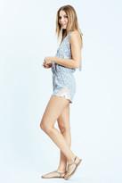 Karen Zambos Floral Grayson Jumper in Grey Floral 16SR505