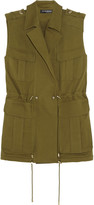 Balmain Cotton-gabardine vest