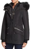 Mackage Katryn Fur Trim Hooded Short Down Coat
